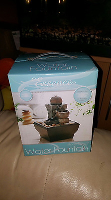 Stone Effect Indoor Water Fountain Brand New