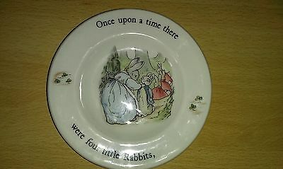 wedgewood peter rabbit change dish