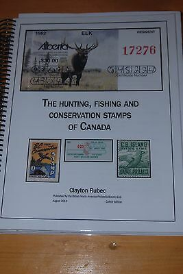 Weeda Literature: Hunting, Fishing & Conservation Stamps, Rubec 2011 BNAPS New