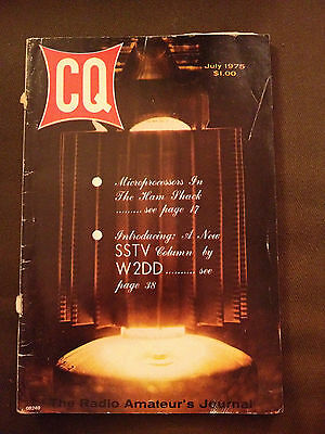 July 1975 Cq The Radio Amateur's Journal Vol.31 #7 - Microprocessor In Hamshank