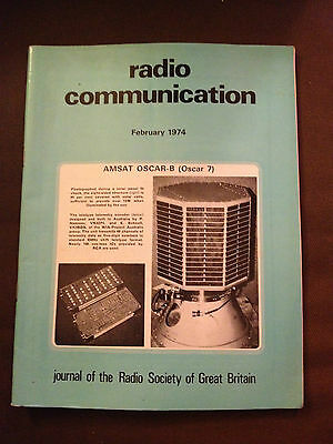 FEB 1974 RADIO COMMUNICATION MAGAZINE (RADCOM) - 1,000MHz AND UP