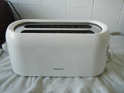 Kenwood TTP210  Perfect 4 Slice Toaster White