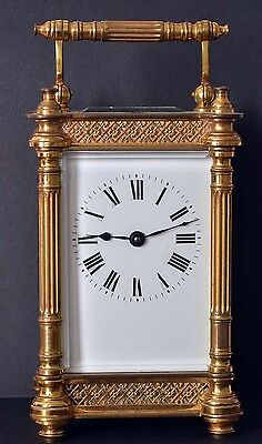 Ornate Antique French Carriage Clock