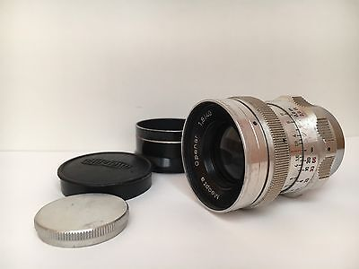 Meopta Openar 1.8/40mm Lens Screw Mount Vintage Clean F1.8 M25 40mm