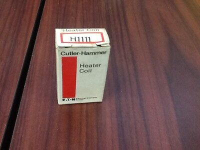 Cutler Hammer 10177H1111 H1111 Eaton Overload Thermal Heater Coil *new In Box*