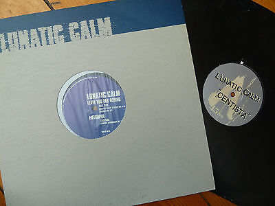 2x Lunatic Calm Records Bundle. Leave You Far Behind / Centista. Breaks.