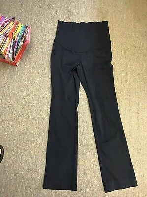 New TapeMeasure Maternity Over The Belly Full Panel Pants  Small