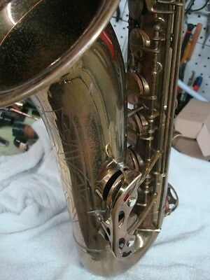 French LeMonte Tenor Saxophone Vintage