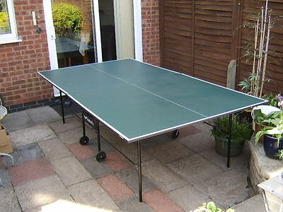 Butterfly TableTennis Table  Indoor Home Rollaway  Full size