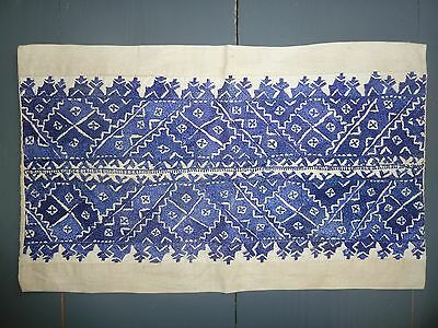 Silk embroidered cushion from Fez Morocco