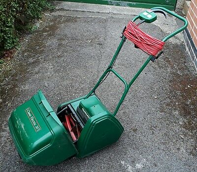 Qualcast classic 30 electric cylinder mower PAT tested