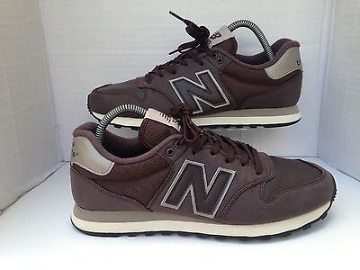 New Balance 500 Beige/Brown Trainers Size UK 7