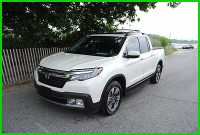 2017 Honda Ridgeline RTL-E RTL-E Fully Loaded Repairable Rebuildable Salvage Wrecked EZ Fix Project  Save
