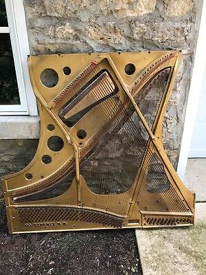 Antique Art Piano Sound Board-KIMBALL 1858