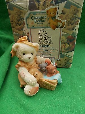 Cherished Teddies TANNA #476595, SPECIAL LIMITED R EDITION, RARE AND RETD