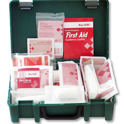 15 KITS - 10 Person Premium HSE Compliant First Aid Workplace Kit, CE, Bulk Buy