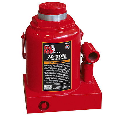 Torin T93007 Big Red Hydraulic Bottle Jack, 30 Ton Capacity