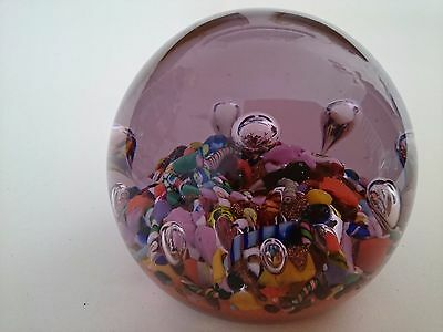 Paul Ysart 1930s Harlequin Art Glass Paperweight