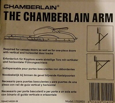 Chamberlain Arm garage door