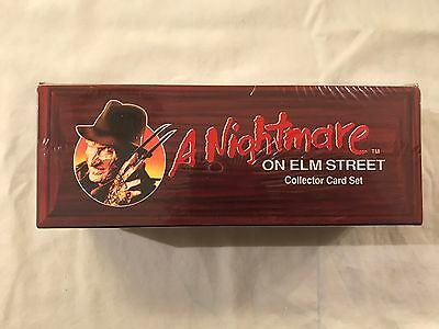 1991 Impel A Nightmare on Elm Street Trading Card Coffin/Casket Factory Set