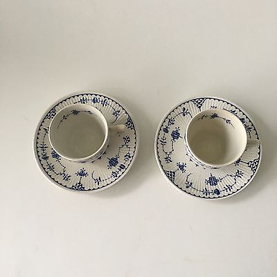 furnivals blue denmark Set Of 2 Expresso Cups And Saucers