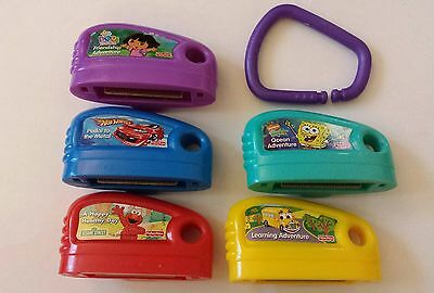 5 Fisher Price Smart Cycle Learning Activity Video Game Cartridges