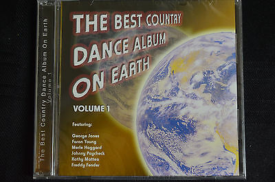 The best country dance album on earth VOL 1 - various  cd new and sealed (B17)
