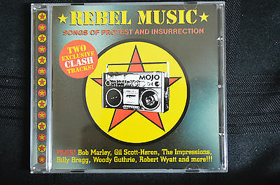 Rebel Music - Songs of protest and insurection  CD New,Clash, Bob Marley etc B6