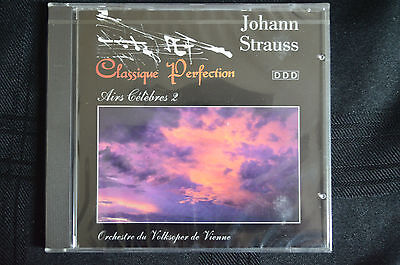 Classique Perfection - Johann Strauss Classical music CD new and sealed (B1)