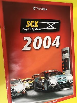 SCX Digital 2004 ex-condition full A4 size 24 page catalogue