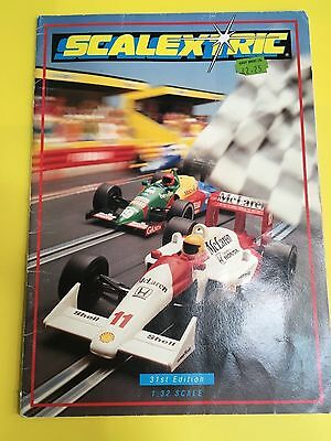 Scalextric 1990 31st edition catalogue + price list in excellent condition