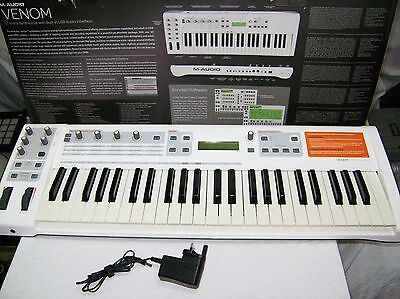 M-Audio Venom Virtual Analog Synth Fantastic Sounding Machine Superb Condition
