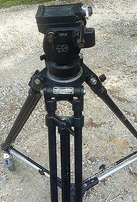 Miller 20 fluid head with tirpod and dolly