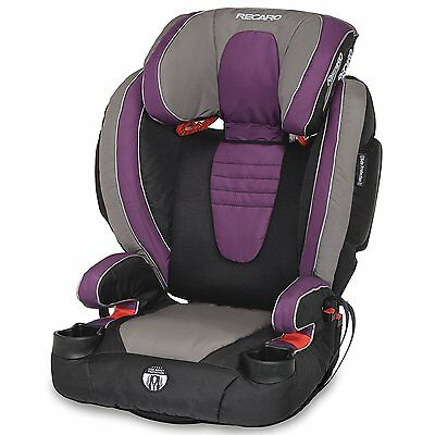 Recaro Performance BOOSTER High Back Booster Car Seat Plum NEW