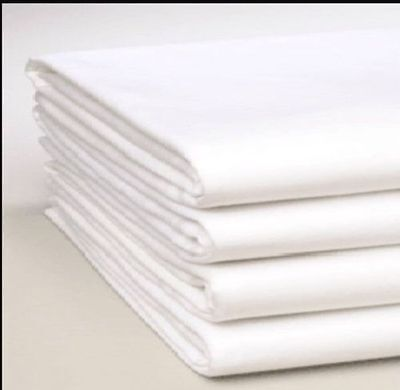 8 x White PILLOW CASES, Ex Hotel, Housewife Pillowcases.