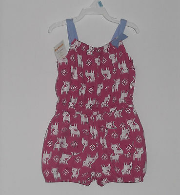 New With Tag Gymboree Todller Girl Cotton Summer  Romper Size 12-18 Months