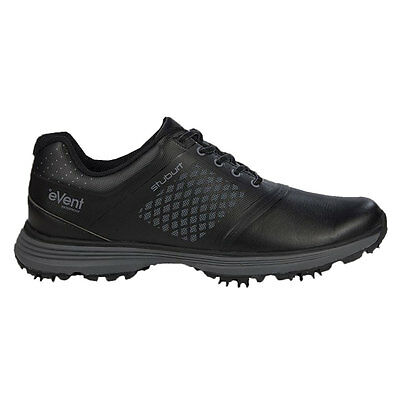 Stuburt 2017 Gents Helium Tour eVent Spikeless Golf Shoes in Black Uk Size 7