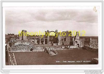 THE PRIORY, HOLY ISLAND, NORTHUMBERLAND, ENGLAND, 1960s?, Postcard