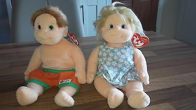 Ty Beanie Kids Angel & Buzz  - Cute Plush Collectables