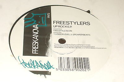 Freestylers ‎– Up Rock E.P.        1997     FRESKANOVA