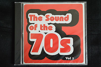 The sounds of the 70's Vol 1 - Various artists  CD new and sealed (B8)