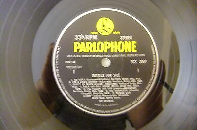 The Beatles  - Beatles for Sale 1st UK STEREO LP 1964, Yellow Black Parlophone