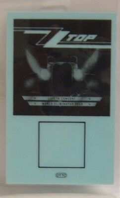 Zz Top - Original Concert Tour Laminate Backstage Pass ***last One**