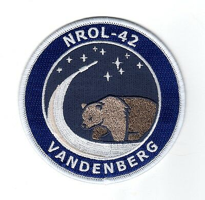 NROL-42 Mission Atlas V Satellite Launch VAFB NRO USAF DOD Space Patch