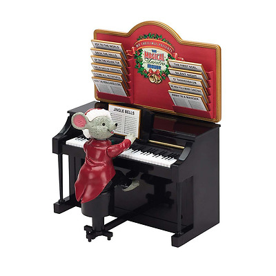 Mr. Christmas 14687 Magical Maestro Mouse, Black Piano