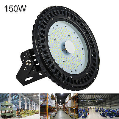 1X 150W LED UFO High Bay Light Gym Factory Industrial Warehouse Shed Lighting