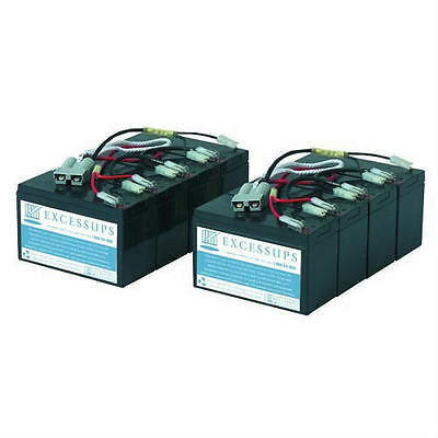 New Replacement Battery Pack For Apc Dell Smart-Ups 3000Va Dl3000Rm3U