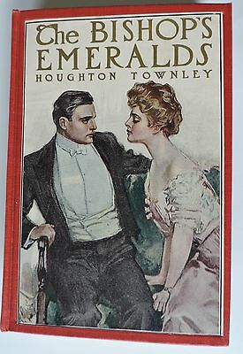 The Bishop's Emeralds by Houghton Townley 1st Edition June 1908
