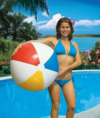 """Beach Ball 24"""" Bestway Inflatable Beach Ball  Holiday Party Swimming Garden Toy"""