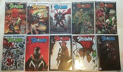 Spawn #261, 262, 263, 264, 265, 266, 267, 268, 269 & 270 COMPLETE SET / Todd McF